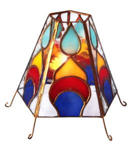 świecznik namiot tiffany kolekcja arabika basole