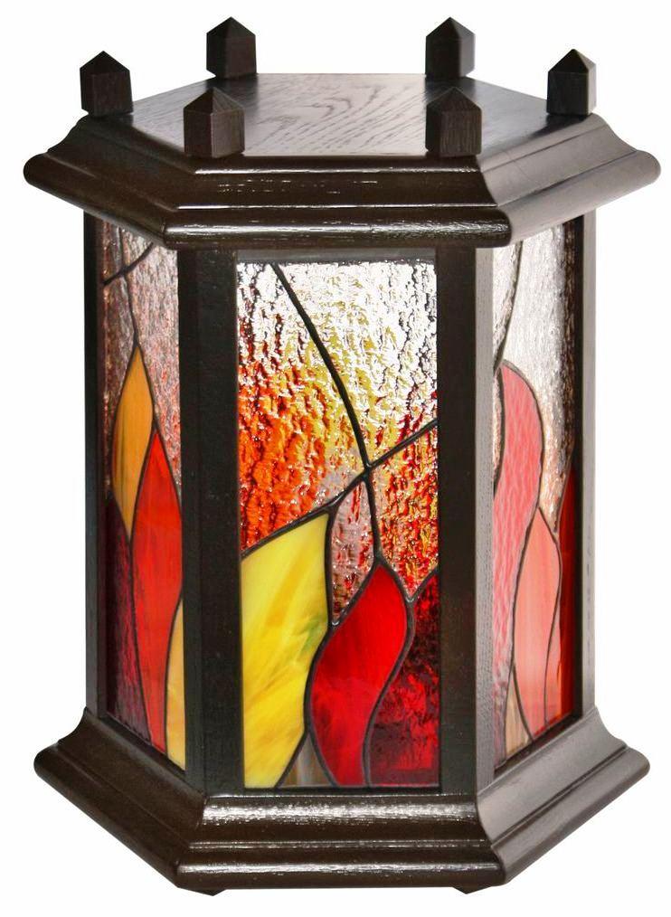 lampa Ognik tiffany kolekcja Ogień BasoLe