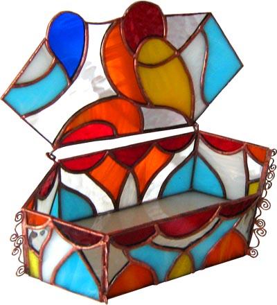 szkatułka tiffany wschód kolekcja arabika basole