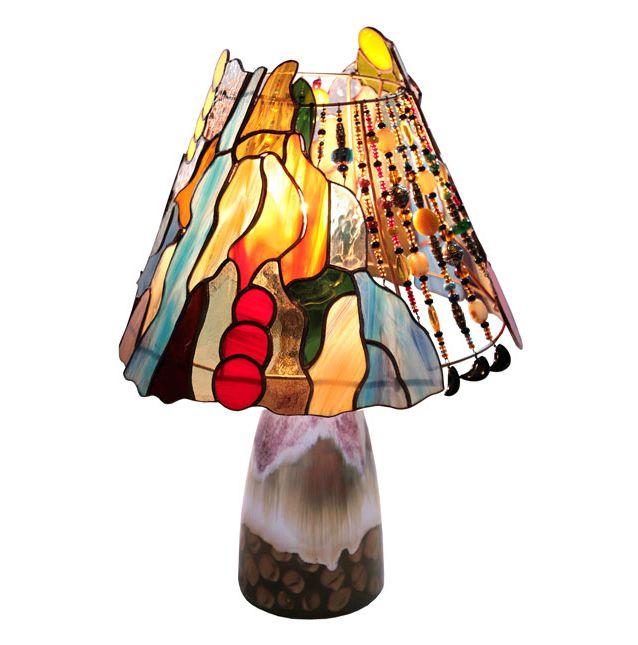 lampa W sercu Afryki tiffany basole