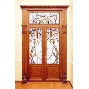 witraże basole tiffany door