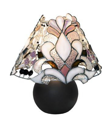 lampa witrażowa królewski szyk