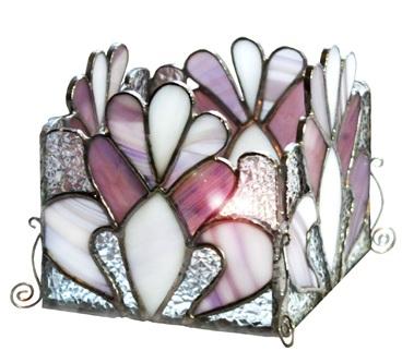 świecznik tiffany królewski szyk basole