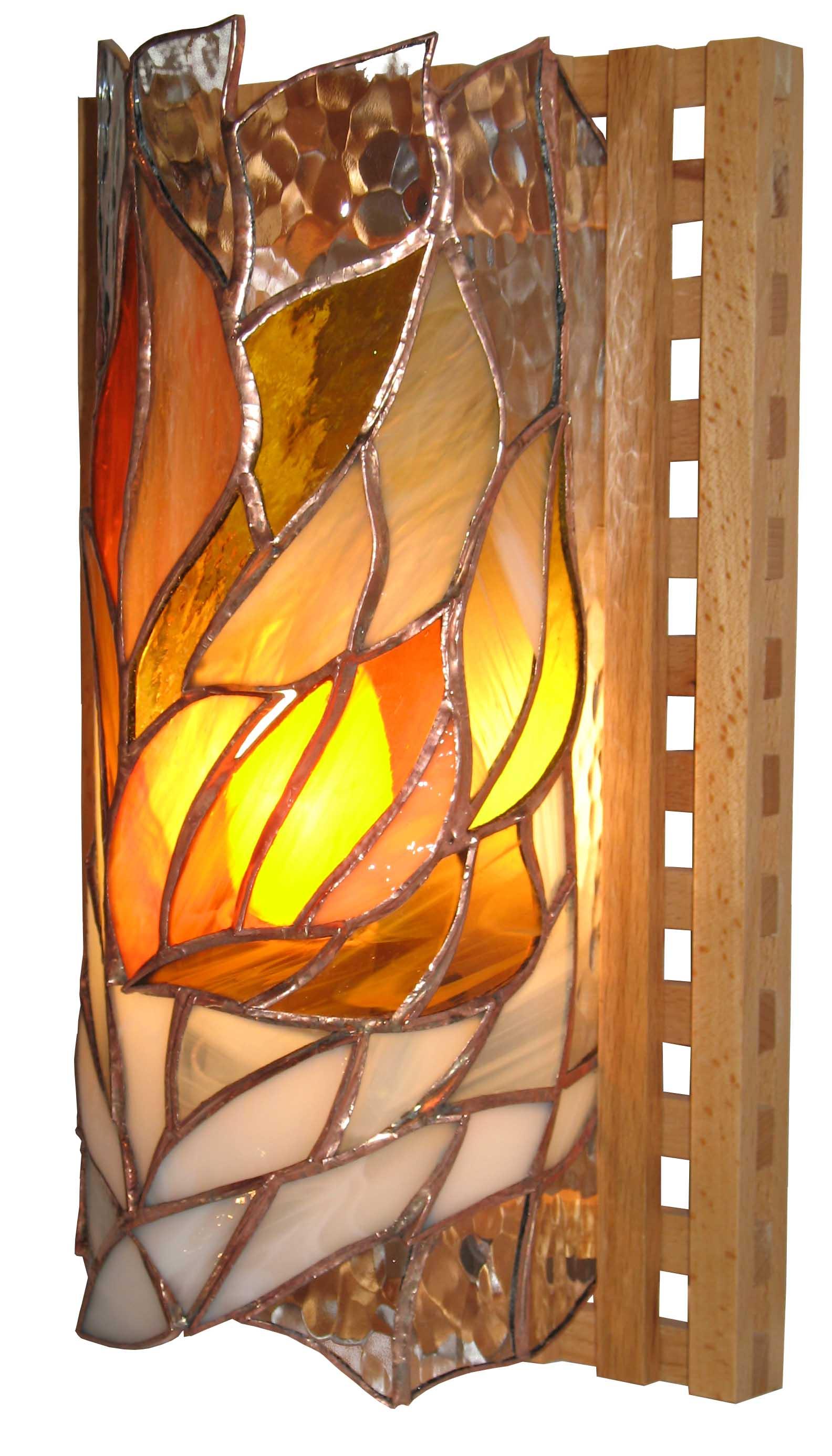 lampa ścienna tiffany basole jesienna rapsodia