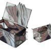 szkatułka Maska karnawałowa Kot tiffany BasoLe