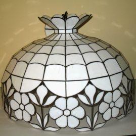 naprawa lampa biłaych tiffany