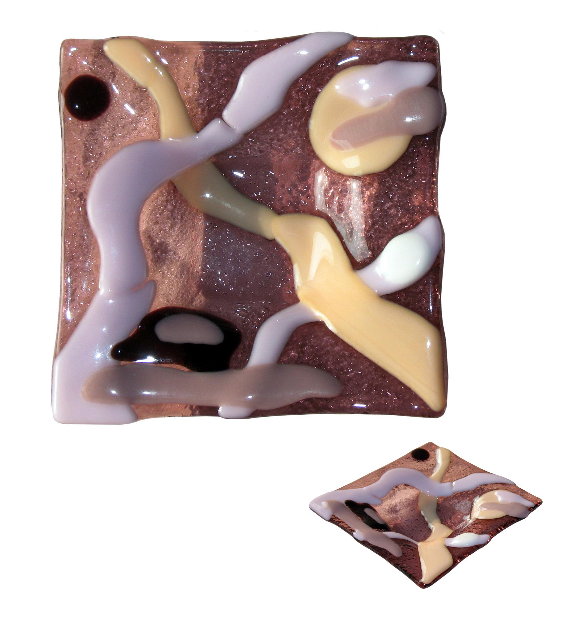 talerzyk W lilowym marzeniu kolekcja BasoLe