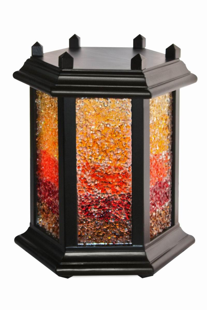 Lampa Odcienie ciepła