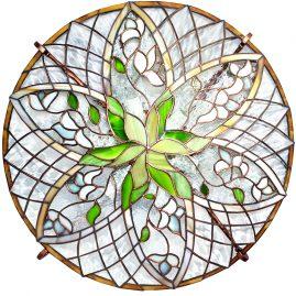 Lampa sufitowa Motywy celtyckie tiffany BasoLe