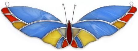 Zawieszka Motylek niebieski