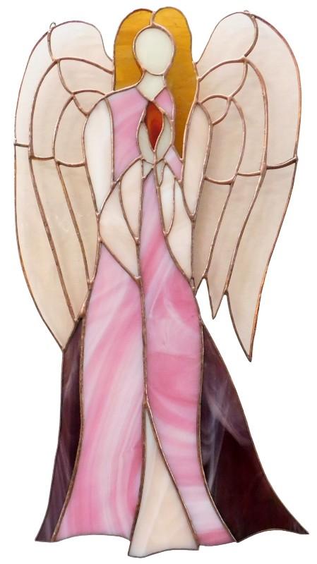 Anioł Wiary ze szkła artystycznego, BasoLe