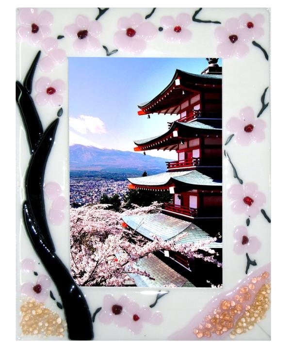 Ramka Duże kwiaty. Na zdjęcie. Sakura Fusing BasoLe