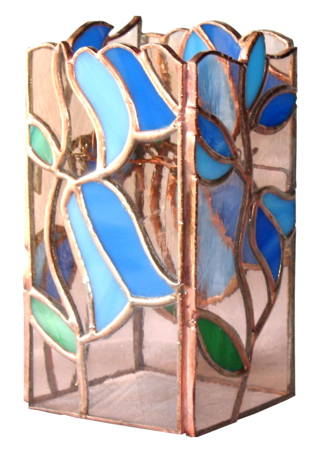 świecznik dzwoneczki tiffany kolekcja ogrody marzeń basole