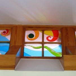 witraże do okien fusing