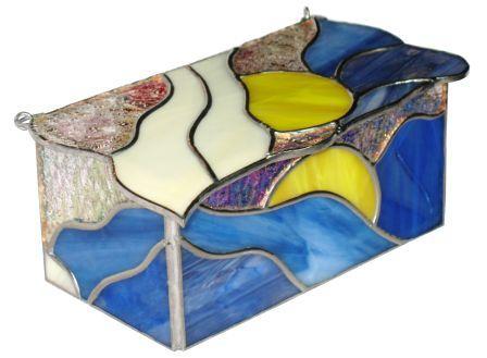 szkatułka Dualizm ze szkła