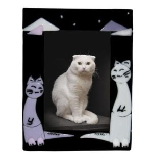 """Ramka na zdjęcia """"Dwa kotki""""."""