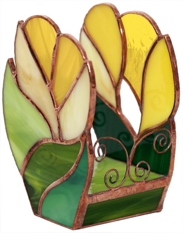 świecznik krokus kolekcja ogrody marzeń tiffany basole