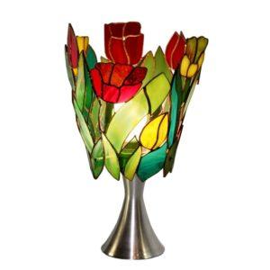 lampa tulipany tiffany kolekcja ogrody marzeń basole