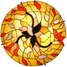 lampa sufitowa Wieronika tiffany BasoLe