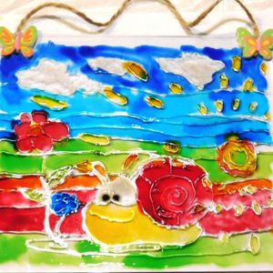 warsztaty dla dzieci malowanie na szkle