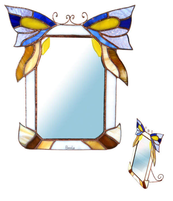 lusterko Motyl tiffany