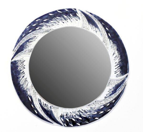 lustro Skrzydło kruka fusing