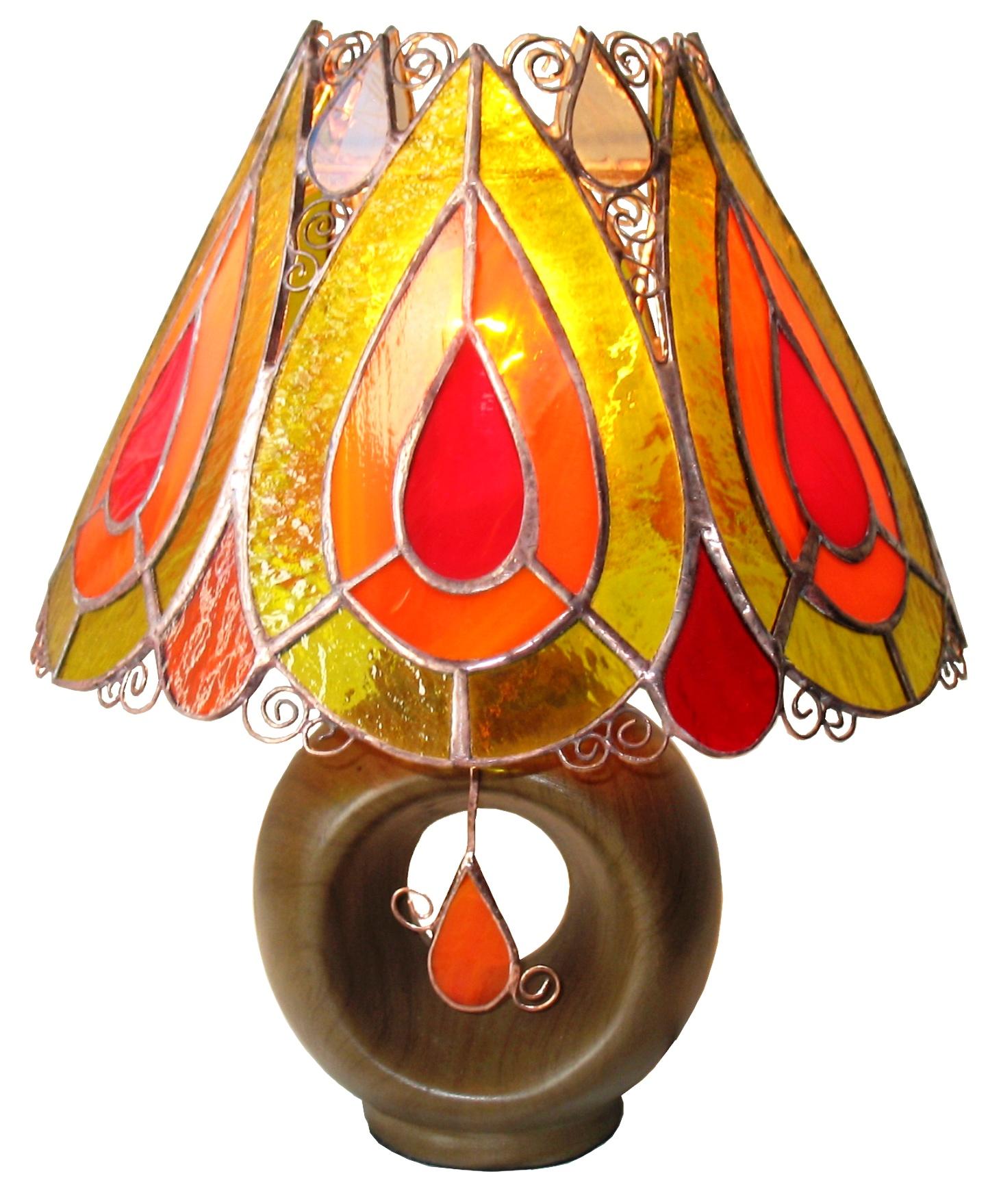 lampa kropla ognia