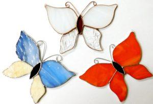 motyli małe kolor