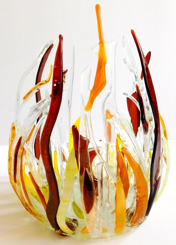 świecznik Kreatywność brązowy