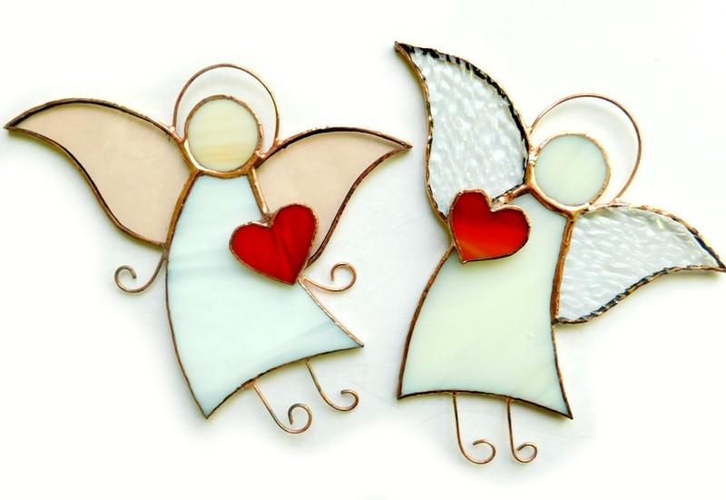 Anioł Serduszko dla Ciebie biały