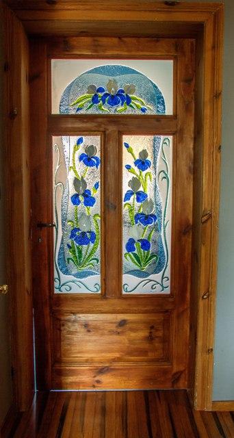Irysy Witraże do drzwi