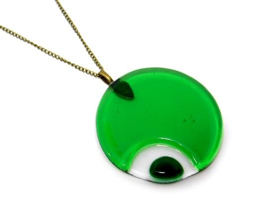 Wisior Zielona planeta