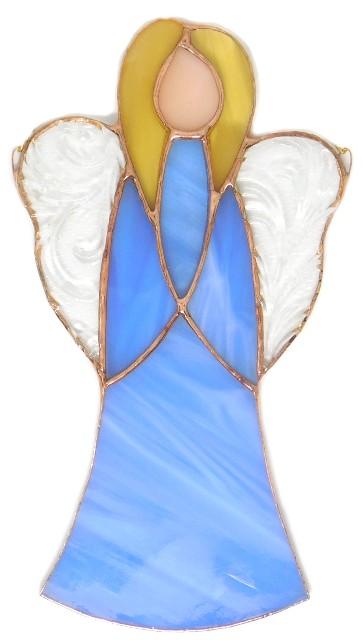 Anioł Ciszy błękitny. Ангел Тишины голубой.