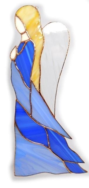Anioł Pokory ze szkła artystycznego, BasoLe